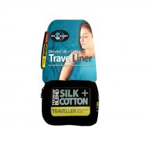 Sea to Summit Premium Blend Silk + Cotton Travel Liner Rectangular Long
