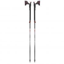 TSL Connect Carbon 5 Cross Ski Poles at Telemark pyrenees
