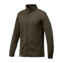 Woolpower Full Zip Jacket 600 - Pine green