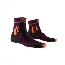 X-Socks Run Trail Energy - Sunset Orange/Opal Black