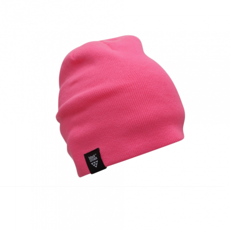 Black Crows Calva Beanie - Neon Pink