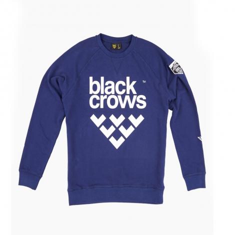 Black Crows Full Logo Sweatshirt - Navy