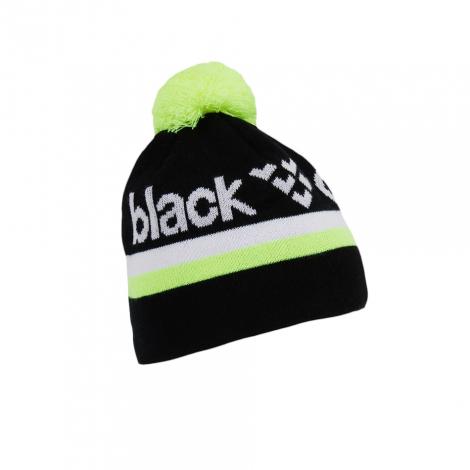 Bonnet Black Crows Nomen - Noir/Blanc/Jaune