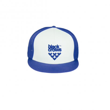 Cappello Black crows Mesh Trucker - Blu/Bianco
