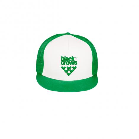 Black crows Mesh Trucker Cappello - Verde/Bianco