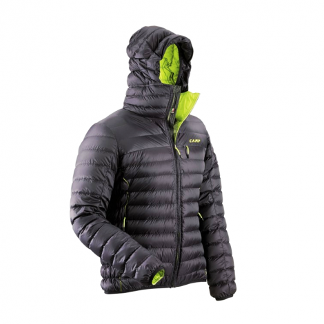 Chaqueta Camp Ed Protection - Negro/Lime Punch