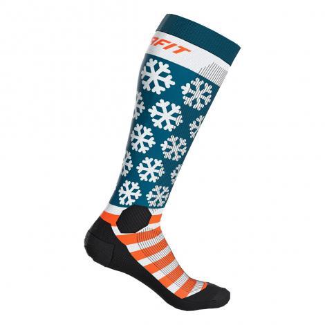 Chaussettes Ski de randonée Dynafit FT Graphic SK - Dawn-Flag