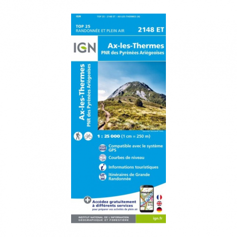 IGN Carte de Randonnées 1:25000 Pyrénées
