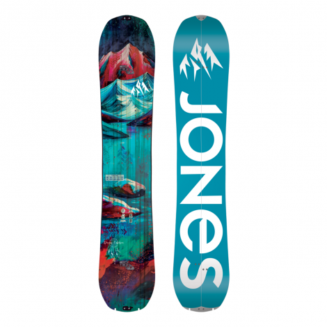 Jones Dream Catcher Femme Splitboard + Fixations