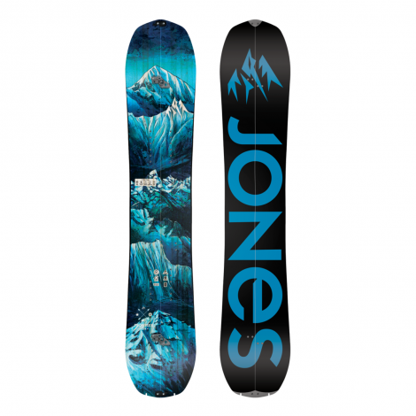 Jones Frontier Splitboard + Binding Packs