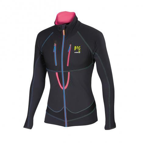 Karpos Alagna Lite Women's Jacket - Black/Pink Fluo