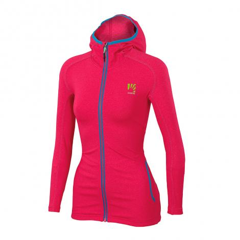 Karpos Breezy W Fleece - Raspberry Pink