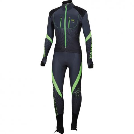 Karpos Race Suit - Dark Green/Grey