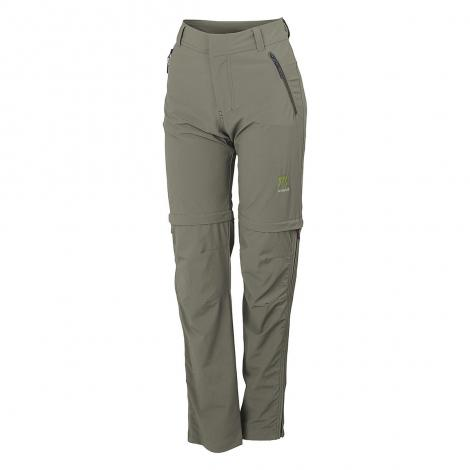 Karpos Scalon W Zip Off Pants - Mourning Dove Green
