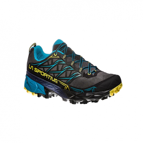 La Sportiva Akyra Trail - Carbon/Tropic Blue