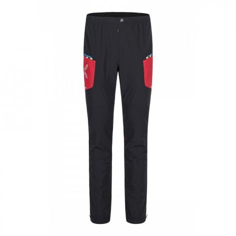 Montura Ski Style Pant - Nero/Rosso