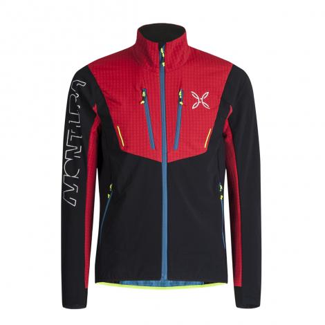 Montura Ski Style Jacket - Nero/Rosso
