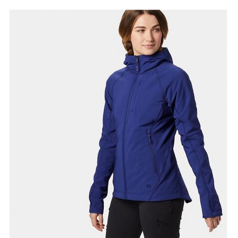 Mountain Hardwear Keele Hoody Women's - Dark Illusion