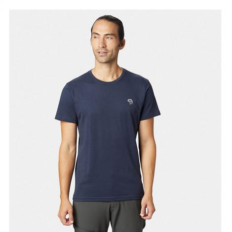Mountain Hardwear Logo Short Sleeve T - Dark Zinc Blue