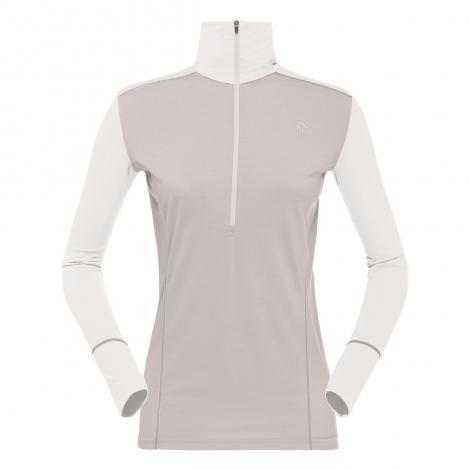 Norrona Wool Zip Neck Mujer - Pure Cashmere