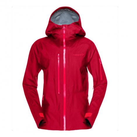 Norrona Lofoten Gore-Tex Active Women's Jacket - Rhubarb Red