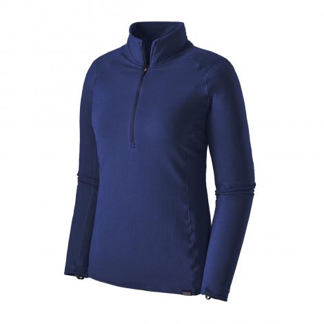 Patagonia Cap TW Zip Neck Femme - Cobalt Blue - Classic Navy X-Dye