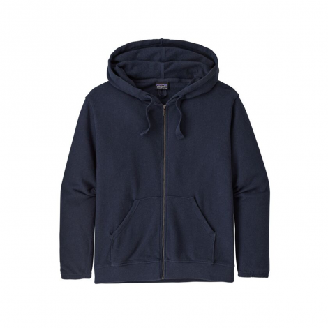 Sweat Capuche Femme Patagonia Organic Cotton French Terry - New Navy