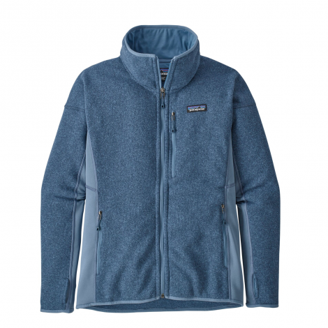 Giacca donna Patagonia Performance Better Sweater - Woolly Blue