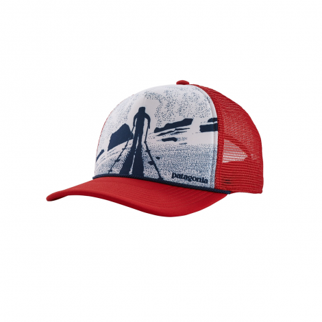 Patagonia Breaking Trail Interstate Hat - Fire Red