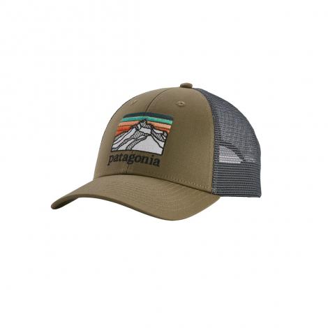Patagonia Line Logo Ridge LoPro Trucker Hat - Sage Khaki