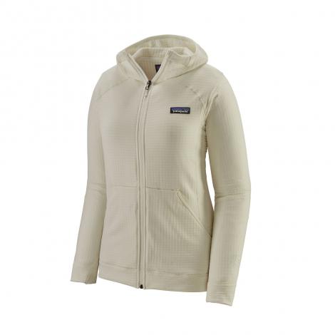Patagonia R1 Full-Zip Hoody Women - Birch White