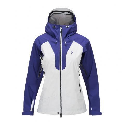 Peak Performance Tour Jacket Women - Deep Violet Blue