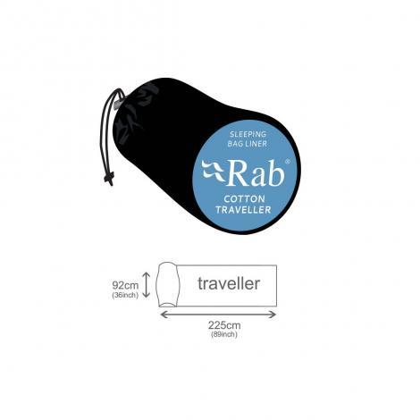 Rab Traveller Saco Sábana Algodón