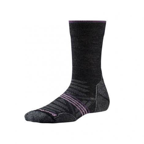 Smartwool Women's PhD Outdoor Light Crew Socks - Charcoal
