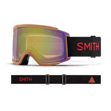 Smith Squad XL Ski Masques de ski - ChromaPop Storm Yellow Flash/Cody Townsend