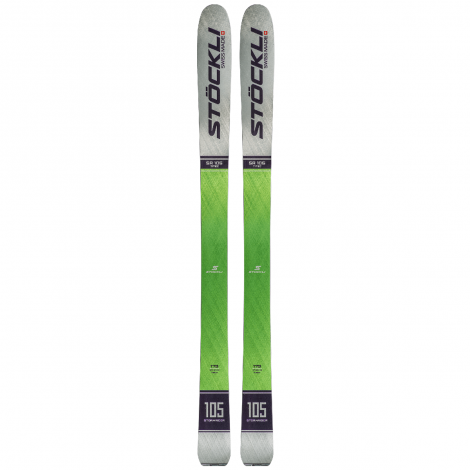 Stockli Stormrider 105 Ski + Alpine Binding Packs