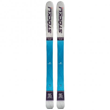 Stockli Stormrider 95 Ski + Alpine Binding Packs