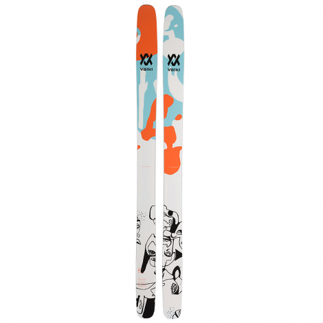 Volkl Revolt 121 Ski + Alpine Binding Packs