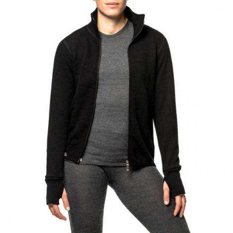 Woolpower Full Zip 400 Giacca - Nero