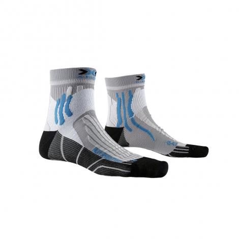 X-Socks Run Speed Two - Pearl Grey/Opal Balck