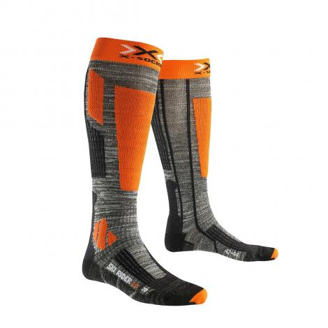 X-Socks Ski Rider 2.0 - Grigio/Arancione