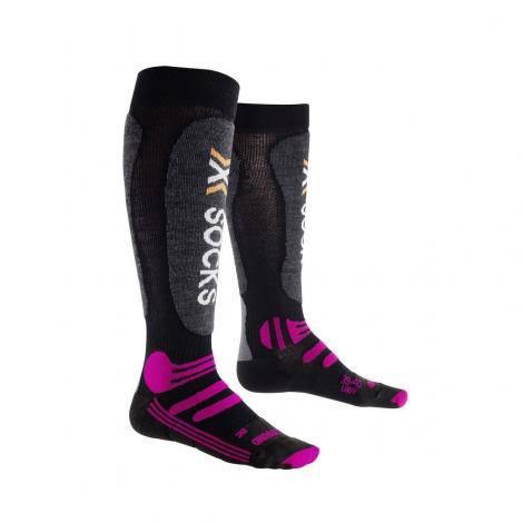 X-Socks All Round Femme - Noir/Violet