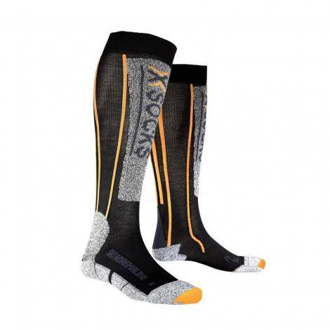 X-Socks Ski Adrenaline - Nero/Arancione
