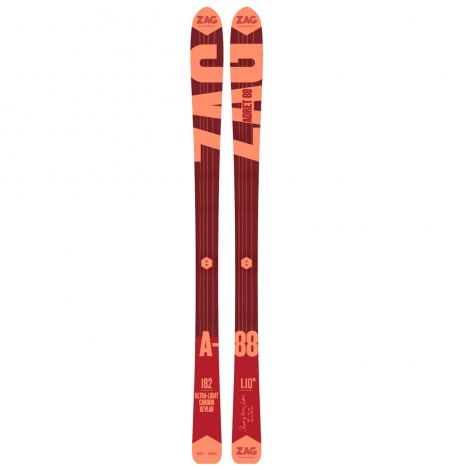 Zag Adret 88 Ski + AT Binding Packages