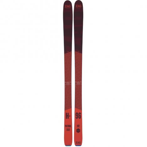 Zag H-96 Ski + Fixations Alpines